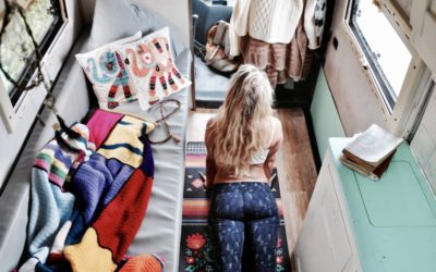 Yoga everywhere, even in small spaces